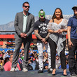 Adrienne Bailon Celebrities At The Monster Energy NASCAR Cup Series Race At Auto Club Speedway