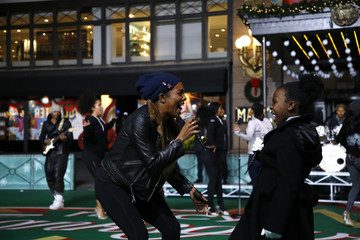 Adrienne Warren 93rd Annual Macy's Thanksgiving Day Parade Rehearsals - Day 2