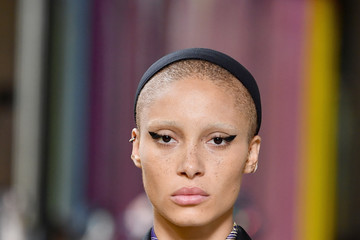 Adwoa Aboah Miu Miu : Runway - Paris Fashion Week Womenswear Spring/Summer 2018