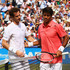Andy Murray Fernando Verdasco Photos - Andy Murray of Great Britain celebrates victory in his men's singles second round match as he walks off court with Fernando Verdasco of Spain during day four of the Aegon Championships at Queen's Club on June 18, 2015 in London, England. - Aegon Championships - Day Four