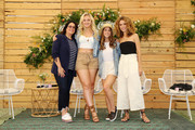(L-R) Jessica Weiner, Iskra, Aly Raisman and Cleo Wade attend Aerie REALTreat in Collaboration with Create & Cultivate on June 08, 2019 in Los Angeles, California.