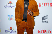 Lil Rel Howery attends The African American Film Critics Association's 11th Annual AAFCA Awards at Taglyan Cultural Complex on January 22, 2020 in Hollywood, California.
