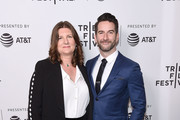 "Producers Jeanmarie Condon and Steven Baker attend the ""After Parkland"" screening at the 2019 Tribeca Film Festival at SVA Theater on April 26, 2019 in New York City."