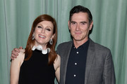 """Julianne Moore and Billy Crudup attend the """"After The Wedding"""" New York Screening  After Party at Hotel 50 Bowery Rooftop on August 06, 2019 in New York City."""