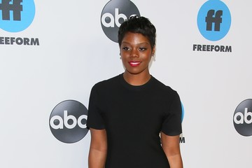 Afton Williamson  Disney ABC Television Hosts TCA Winter Press Tour 2019 - Arrivals