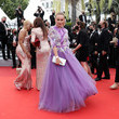 """Agatha Maksimova """"Les Intranquilles (The Restless)"""" Red Carpet - The 74th Annual Cannes Film Festival"""