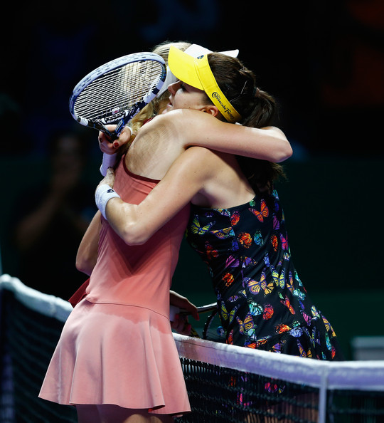 BNP Paribas WTA Finals: Day 4