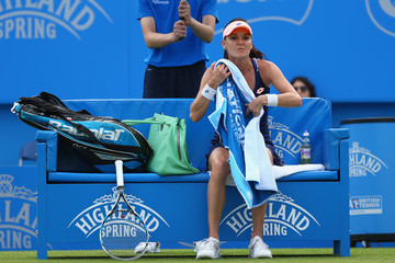 Agnieszka Radwanska Aegon International - Day Four