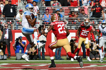 Ahkello Witherspoon Detroit Lions vs. San Francisco 49ers