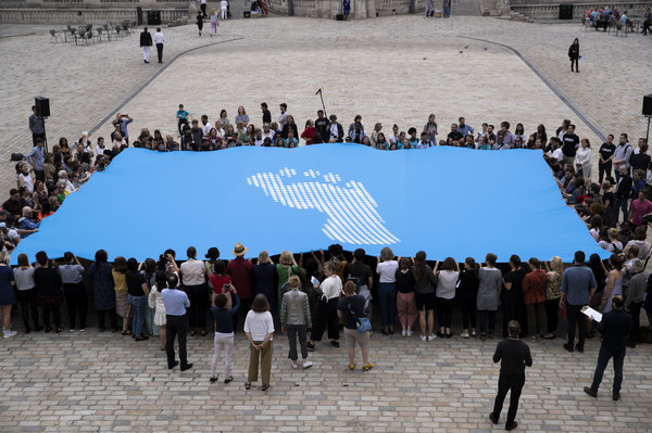 'Fly The Flag' Project At Somerset House - Photocall