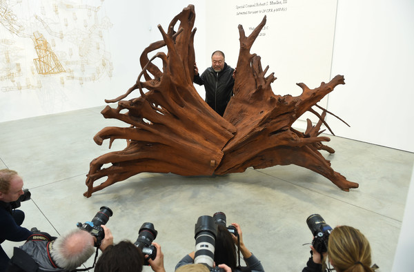 Frieze London 2019: Ai Weiwei - Photocall