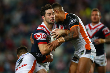 Aidan Guerra NRL Rd 24 - Roosters v Wests Tigers