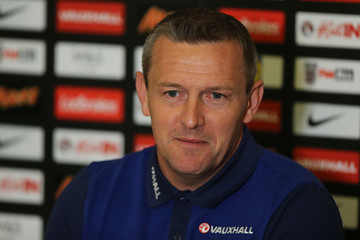 Aidy Boothroyd England U21 Training Session and Press Conference