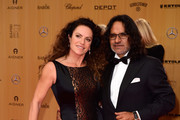 Christine Neubauer and Jose Campos attend the Bambi Awards 2015 at Stage Theater on November 12, 2015 in Berlin, Germany.
