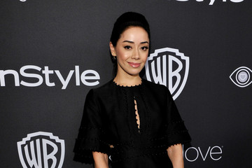 Aimee Garcia The 2017 InStyle and Warner Bros. 73rd Annual Golden Globe Awards Post-Party - Red Carpet