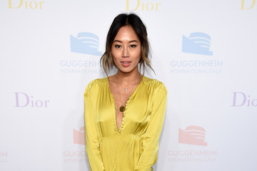 Aimee Song 2016 Guggenheim International Pre-Party Made Possible by Dior