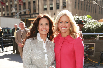 Ainsley Earhardt  Lynda Carter Visits 'FOX & Friends'