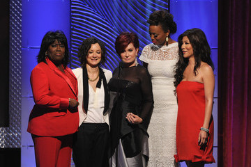 Aisha Tyler Sara Gilbert The 40th Annual Daytime Emmy Awards Show