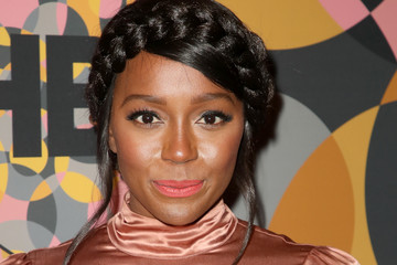 Aja Naomi King HBO's Official Golden Globes After Party - Arrivals
