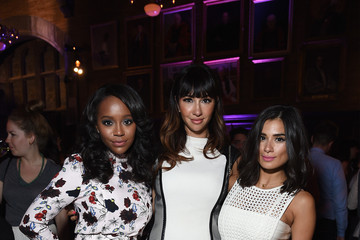 Aja Naomi King 'Entertainment Weekly' and 'People' Celebrate the New York Upfronts - Inside
