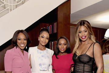 Aja Naomi King InStyle Badass Women Dinner Hosted By Tracee Ellis Ross And Laura Brown