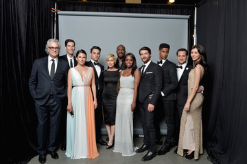 Aja Naomi King Jack Falahee 46th NAACP Image Awards Presented By TV One - Portraits