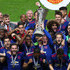 Wayne Rooney Photos - Wayne Rooney of Manchester United lifts The Europa League trophy after the UEFA Europa League Final between Ajax and Manchester United at Friends Arena on May 24, 2017 in Stockholm, Sweden. - Ajax v Manchester United - UEFA Europa League Final