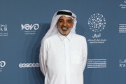Salah Al Mulla attends the 'It must be heaven' screening on the opening night of the annual Ajyal Youth Film Festival presented by the Doha Film Institute on November 18, 2019 in Doha, Qatar.