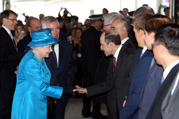 Akbar Al Baker Queen Elizabeth II Catches a Flight