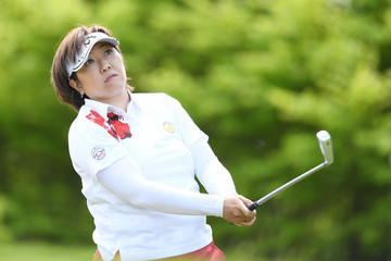 Akiko Fukushima CyberAgent Ladies Golf Tournament - Day 1