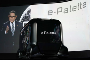 Akio Toyoda Latest Consumer Technology Products On Display At Annual CES In Las Vegas