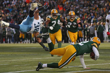 Al Afalava Tennessee Titans v Green Bay Packers