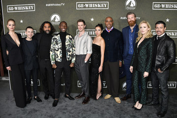 """Al Coronel Jeremy Tardy Paramount Network's """"68 Whiskey"""" Premiere Party"""