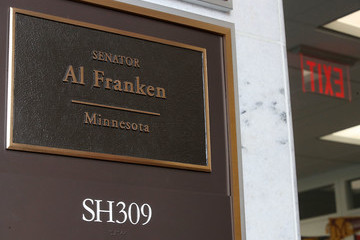 Al Franken Growing Number of Lawmakers Call for Sen. Al Franken's Resignation in Wake of Sexual Harassment Allegations