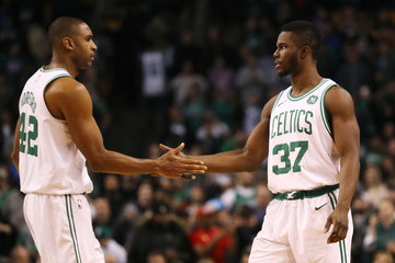 Al Horford Dallas Mavericks v Boston Celtics