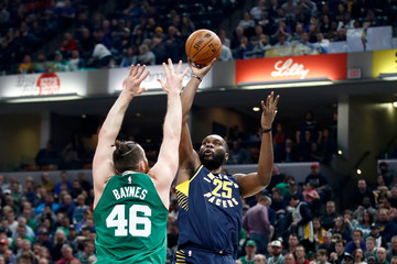 Al Jefferson Boston Celtics v Indiana Pacers