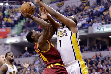 Al Jefferson Cleveland Cavaliers v Indiana Pacers
