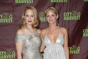 "Nina Rennert Davidson (L) and Heather Mnuchin attend City Harvest's 16th annual ""An Evening Of Practical Magic"" at Cipriani 42nd Street on April 14, 2010 in New York City."