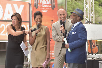 Al Roker Tamron Hall Hunter Hayes Performs on 'Today'
