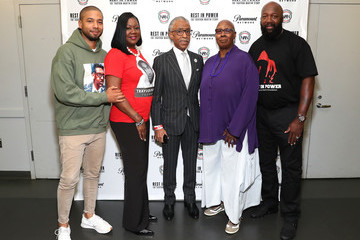 Al Sharpton Sybrina Fulton Screening And Panel For 'Rest In Power: The Trayvon Martin Story'