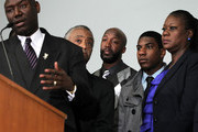 Al Sharpton Jahvaris Fulton Photos Photo
