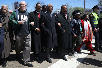 Al Sharpton Memphis Marks 50th Anniversary Of Martin Luther King Jr's Assassination