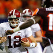 Greg McElroy Photos