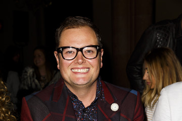Alan Carr Front Row & Celebrities: Day 2 - LFW AW16