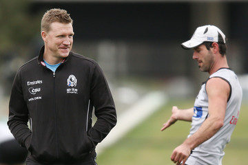 Alan Didak Collingwood Magpies Training Session