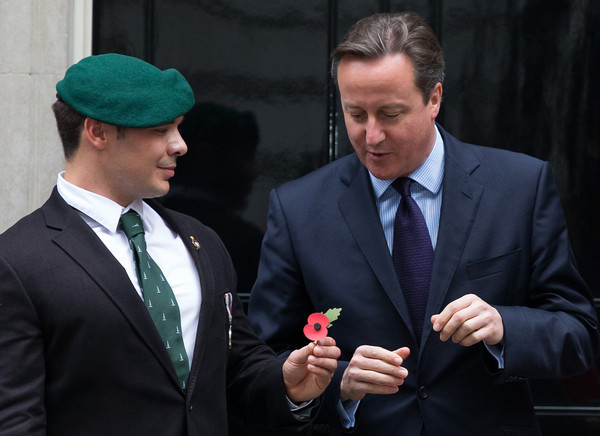 The Prime Minister Launches This Year's Poppy Appeal