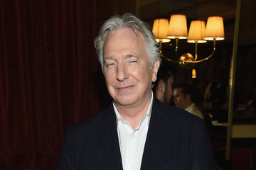 Alan Rickman Celebrities Attend 'A Little Chaos' New York Premiere Afterparty