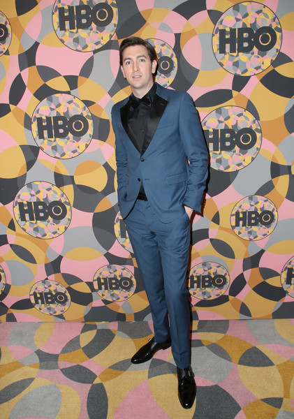 HBO's Official Golden Globes After Party - Arrivals [fashion,cool,outerwear,design,art,pattern,visual arts,fashion design,suit,formal wear,alan ruck,california,los angeles,circa 55 restaurant,golden globes,hbo,party,arrivals,thom evans,golden globe awards,hollywood,actor,hbo,golden globe awards after party]