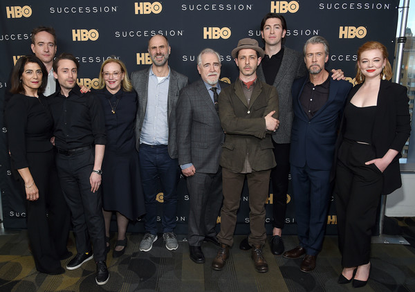 'Succession' FYC Event [social group,event,premiere,team,succession,fyc event,jesse armstrong,hiam abbass,kieran culkin,matthew macfadyen,jeremy strong,brian cox,j. smith-cameron,sarah snook]