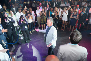 Alan Thicke Coach Woodson Las Vegas Invitational Red Carpet and Pairings Party